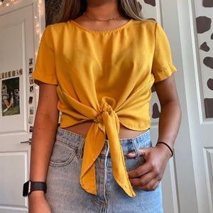 Mustard Yellow short sleeve